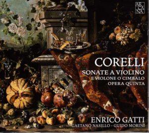CD COVER CORELLI OP. 5 GATTI