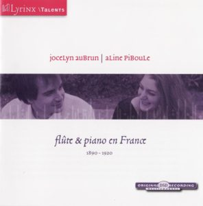 LYRINX FLUTE AND PIANO