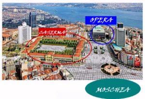 rendering piazza Taksim