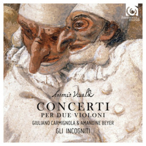 cd cover vivaldi concerti per due violini