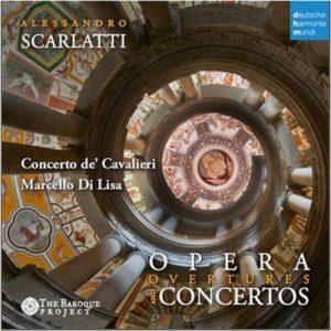CD COVER SCARLATTI DI LISA